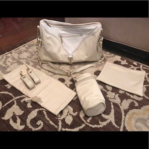 Kalencom Champagne Astrid Diaper Bag
